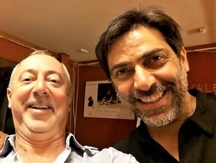 Sergio Vespertino e Marco Pomar
