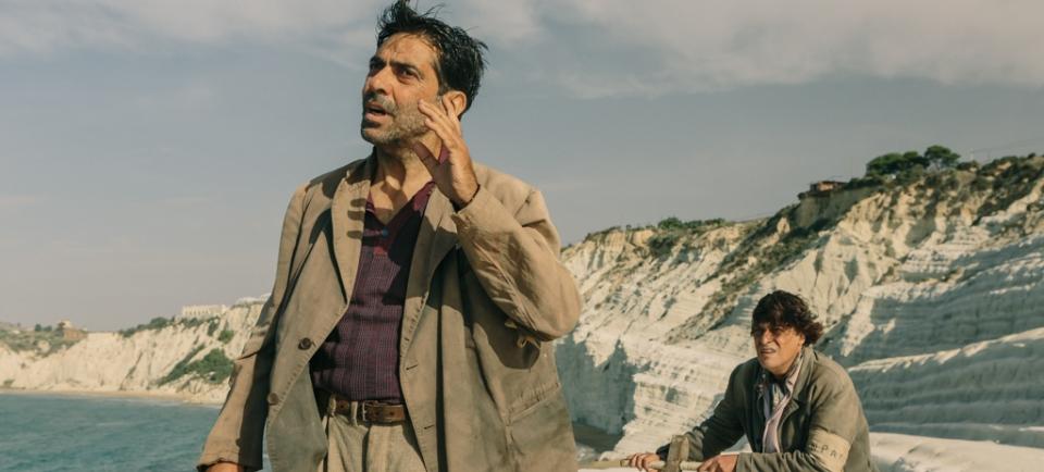 film di PIF  In guerra per amore , sergio vespertino e maurizio bologna