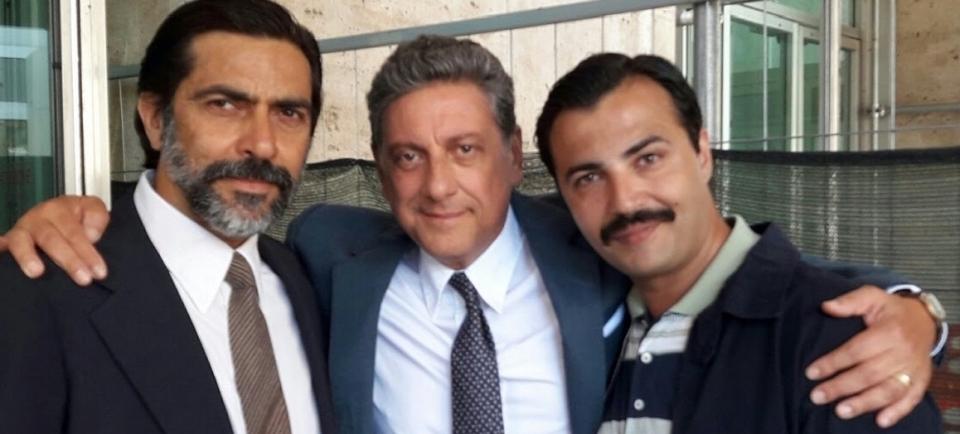 Rocco Chinnici - E' così lieve il tuo bacio sulla fronte - Film Rai 1 con Sergio Castellitto, Sergio Vespertino nel ruolo dell'agente di scorta. In onda su RAI 1 il 23 gennaio 2018